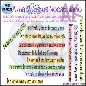 PARA EMPEZAR Takes LAS VEGAS * Speaking & Writing Fluency Practice Activity