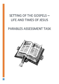PARABLES ASSEEMENT TASK