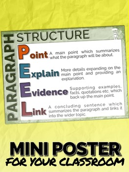 teaching paragraph structure
