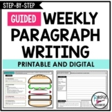 PARAGRAPH WRITING PROMPTS | PARAGRAPH OF THE WEEK | DISTAN