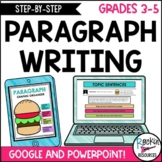 PARAGRAPH WRITING   INTERACTIVE   GOOGLE AND POWERPOINT  