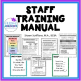 PARAPROFESSIONAL TRAINING BINDER