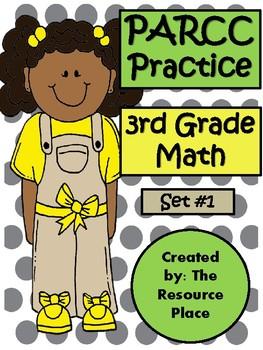 PARCC-Like Test Prep 3rd Grade Math - Set #1