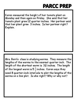 PARCC 3rd Grade Math Bundle