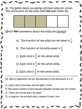 PARCC-Like Test Prep 3rd Grade Math MEGA PACK!