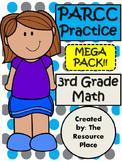 PARCC-Like Test Prep 3rd Grade Math MEGA PACK!