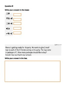 PARCC 3rd Grade Math Practice - AZ version
