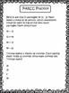 PARCC-like 3rd grade math test prep