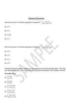 PARCC 8th Grade Math Bundle for PBA/MYA