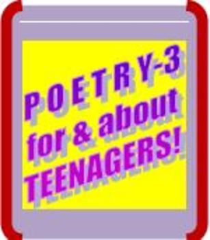 PARCC-ALIGNED POETRY LESSON-3! Poetry For Students & About Students!
