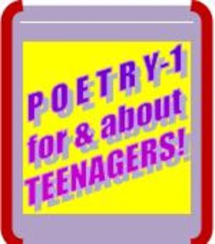 PARCC-ALIGNED POETRY LESSON-1! Poetry For Students & About Students!