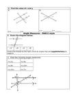 PARCC Angle Measure questions