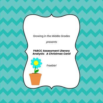 PARCC Assessment Literary Analysis:  A Christmas Carol