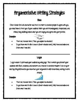 PARCC/CC Aligned Argumentative Writing Packet 2