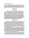 PARCC Double Passage Practice, #2