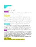 PARCC Dr. Seuss Comparing Two Texts