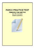 PARCC ELA PBA PRACTICE 1, Research Task, Test Prep
