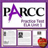 PARCC ELA Practice Test Unit 1 Print AND Paperless Get Ready for State Testing!