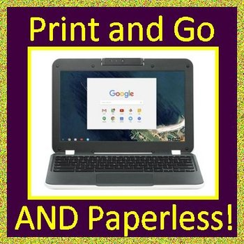 PARCC ELA Practice Test Unit 2 Print AND Paperless Get Ready for State Testing!