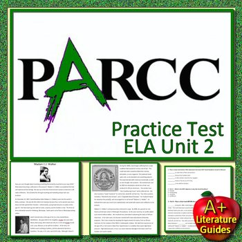 7th Grade PARCC ELA Practice Test Unit 2 - Get Ready for State Testing!