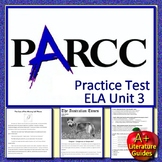 ELA PARCC Practice Test Unit 3 Print AND Paperless Get Ready for State Testing!