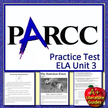 Parcc Practice Grade 3 Ela Teaching Resources Teachers Pay Teachers