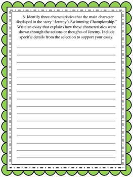PARCC ELA Test Prep #1 (Narrative Task)