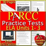 PARCC ELA Test Prep BIG Bundle - Practice Units 1 - 3 Grades 6 - 7 Google Ready