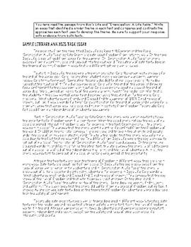 PARCC ELA Writing Test Prep Study Guide - Grade 6