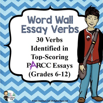 PARCC ESSAY VERBS: WORD WALL