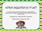 PARCC Equation Math Review