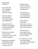 PARCC/ FSA Test Prep! Reading Text Coding Poem/ Rap