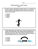 PARCC Format 2018 Winter Olympics Math Practice - Grade 3