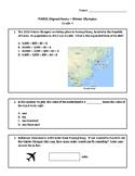 PARCC Format 2018 Winter Olympics Math Practice - Grade 4