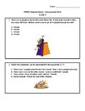 PARCC Format Amusement Park Themed Math Practice - Grade 3