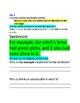 PARCC Grammar Buddy Activity