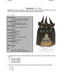 PARCC Inspired ~ MacBeth Act I Quiz