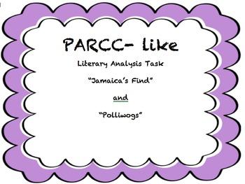 PARCC-Like Assessment Literary Analysis