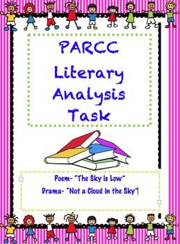 PARCC Like Assessment: Literary Analysis Task