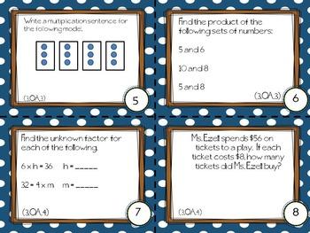 PARCC Like Mathematics (3rd Grade) Resource Bundle