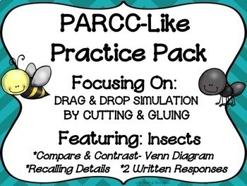 PARCC-Like Practice #10: ELA-- Insects (Ants, Bees, Termites)