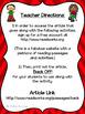 PARCC-Like Practice #13: ELA--President Barack Obama and the Issue of Bullying