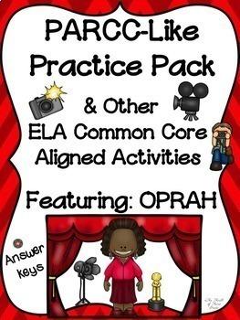 PARCC-Like Practice #5: ELA (Oprah Winfrey)