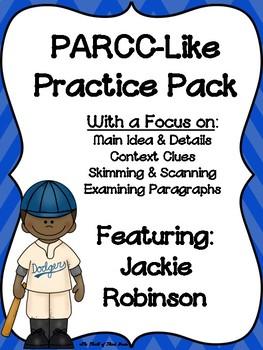PARCC-Like Practice #6: ELA (Jackie Robinson)