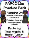 PARCC-Like Practice #7 WOMEN'S HISTORY MONTH & BLACK HISTO