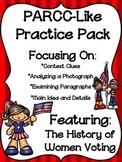 PARCC-Like Practice #8: ELA WOMEN'S HISTORY MONTH