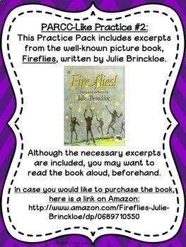 PARCC-Like Practice BUNDLE: ELA