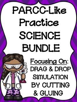 PARCC-Like SCIENCE Practice BUNDLE: ELA