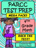 PARCC/NJSLA-Like Test Prep 4th Grade Math - MEGA PACK!