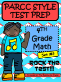 PARCC-Like Test Prep 4th Grade Math - Set #2
